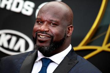 "Shaq Begs Fans To Roast His ""George Jefferson"" Hairline: Watch"