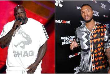 "Shaq's Son Says His Dad ""Bodied"" Damian Lillard In Rap Battle: ""It's Over, He Won"""