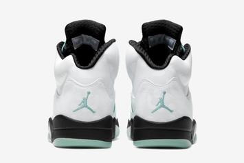 """Air Jordan 5 """"Island Green"""" Coming Soon: Official Images Revealed"""