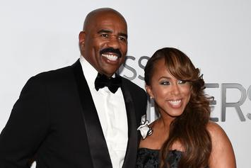 Steve Harvey & Wife Marjorie Both Recently Spotted Not Wearing Wedding Rings