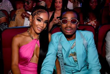 Quavo & Saweetie Can't Get Enough Of Their Matching Grills