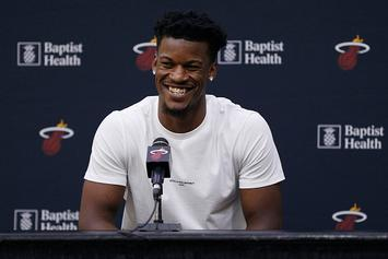 "Jimmy Butler Compares His Life To Famous Artists: ""I'm More Like A Banksy"""