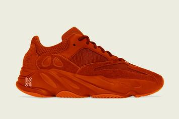 "Adidas Yeezy Boost 700 Releasing In A Crazy ""Triple Orange"" Colorway"