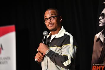 "T.I. Names His Mt. Rushmore Of Atlanta Rappers: ""I'm Up There!"""