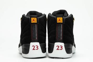 "Air Jordan 12 ""Reverse Taxi"" To Drop In Full Family Sizing: Release Details"