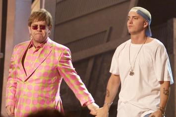 Elton John Talks About The Sex Toy Eminem Gifted Him At His Wedding