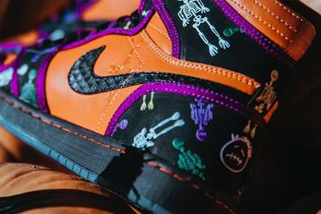 "Travis Scott's Air Jordan 1 Receives Festive ""Day Of The Dead"" Makeover"