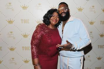 Rick Ross & His Mom Cook Up Some Magic In The Kitchen