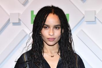 "Zoe Kravitz Cast As Catwoman In The Forthcoming Film ""The Batman"""