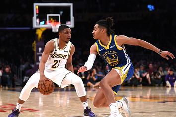 Lakers' Rookie Zach Norvell Jr. Drops Warriors' Jordan Poole With Nasty Crossover