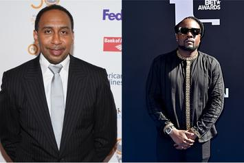 Stephen A. Smith Hilariously Blasts Wale Over Steelers Slander: Watch