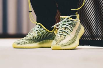 "Adidas Yeezy Boost 350 V2 ""Yeezreel"" Coming Soon: On-Foot Images"