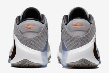 "Giannis' Nike Zoom Freak 1 Revealed In ""Atmosphere Grey:"" Official Details"