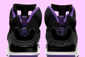 Lakers-Inspired Air Jordan Spiz'Ike Coming Soon: Official Images