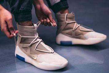 """Nike Air Fear Of God 1 """"Oatmeal"""" Release Date, Images Revealed"""