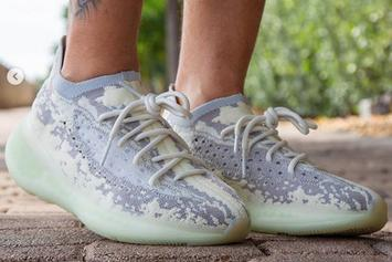 """Kanye West's """"Alien"""" Yeezy Boost 380 Coming Soon: New On-Foot Images"""
