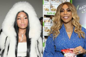 "Wendy Williams Shades Nicki Minaj's Marriage: ""So He's A Killer & A Sex Offender"""