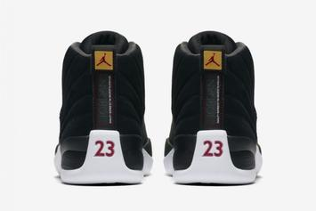 "Air Jordan 12 ""Reverse Taxi"" Release Date Confirmed: Official Images"