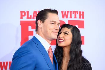 John Cena Hits The Red Carpet With New Girlfriend Shay Shariatzadeh