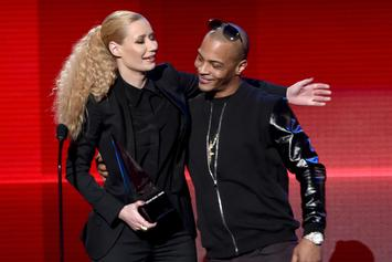 """Iggy Azalea Claps Back After T.I. Claims She """"Switched Up"""" On Breakfast Club"""