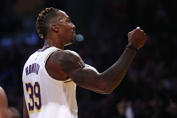 Dwight Howard Dresses As Thanos For Lakers' Trick Or Treat Event: Watch