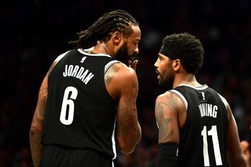 "DeAndre Jordan Sarcastically Disses Kyrie Irving For His ""Mood Swings"""