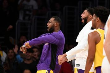 """LeBron James Leads Lakers Fans In """"Taco Tuesday"""" Chant During Blowout Win"""