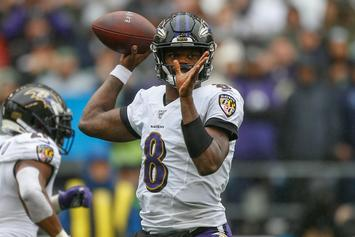 Lamar Jackson Unleashes His Inner Wizard With Harry Potter Costume