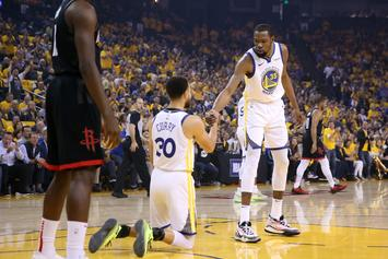 Kevin Durant Reacts To Steph Curry's Devastating Hand Injury: Watch