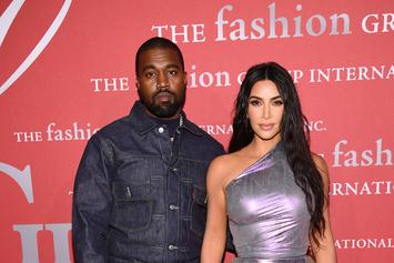 Kanye West Puts On Two More Massive Masked Costumes In Family Halloween Photos