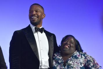 Jamie Foxx Supports Sister DeOndra At Down Syndrome Foundation Fundraiser