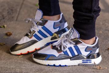 "Star Wars x Adidas Nite Jogger ""R2-D2"" Drops This Month: On Foot Images"
