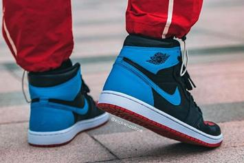 "Air Jordan 1 High OG ""UNC To Chicago"" Coming Soon: On-Foot Photos"