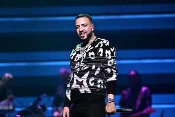 "French Montana Addresses Drake's Shot At Kanye West On ""No Stylist"""
