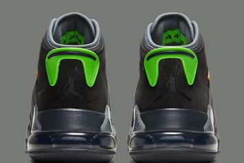 """Jordan Mars 270 Dropping In Flashy """"Electric Green"""" Model: Official Images"""