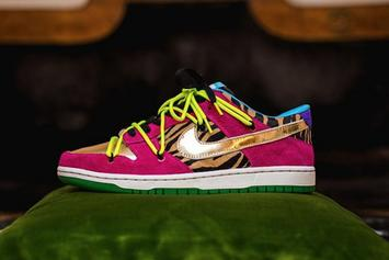 "Bad Bunny Gifted Exclusive Nike SB Dunk Low ""Oasis"" Customs"