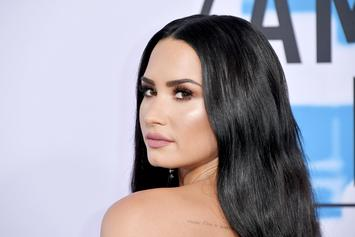 Demi Lovato Kisses On New Tattooed Boyfriend In Instagram Photo