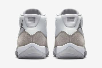 """Air Jordan 11 """"Metallic Silver"""" Release Date Confirmed, Official Images Revealed"""