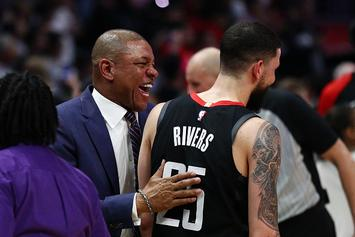 Austin Rivers Eggs On Refs As His Dad, Doc Rivers, Gets Ejected: Watch
