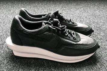 Sacai x Nike LDWaffle Rumored To Drop In New Black Colorway: First Look