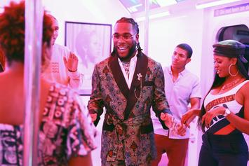 Burna Boy Brings The Chill Vibes To His NPR Tiny Desk Performance