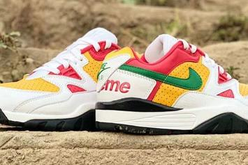 Supreme x Nike Air Cross Trainer III Collab Revealed In New Colorway
