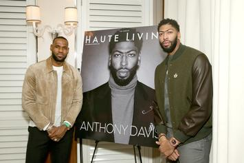 Anthony Davis Explains How LeBron James Has Surprised Him So Far