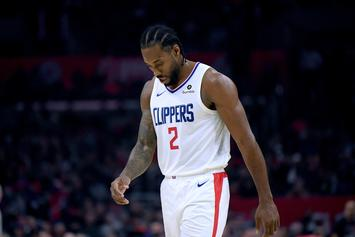 Kawhi Leonard Receives Hilarious Impersonation From Lou Williams