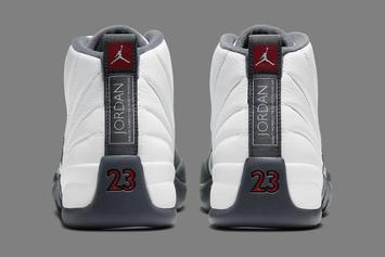 "Air Jordan 12 ""Dark Grey"" Officially Drops Next Week: Detailed Images"