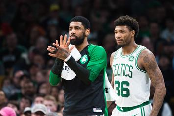 Marcus Smart Comments On Kyrie Irving And His Mood Swings
