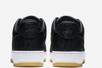 "Clot x Nike Air Force 1 Low ""Black Silk"" Officially Unveiled: Photos"