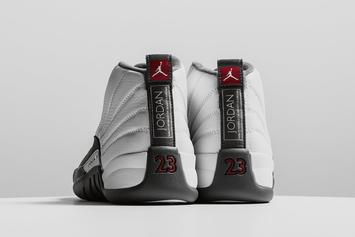"Air Jordan 12 ""Dark Grey"" Releasing Today: Purchase Links"