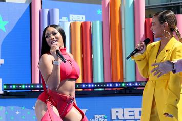 Megan Thee Stallion Gasses Up Karrueche Tran On Ass-Shaking Doja Cat Parody Video