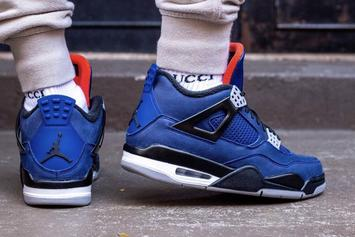 "Air Jordan 4 WNTR ""Loyal Blue"" Release Date Changed: New Details"